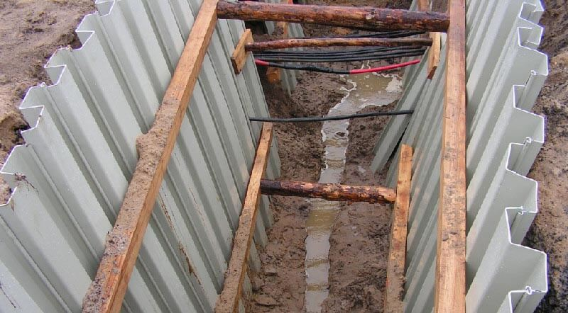 Некоторые важные нюансы шпунтового укрепления котлованов