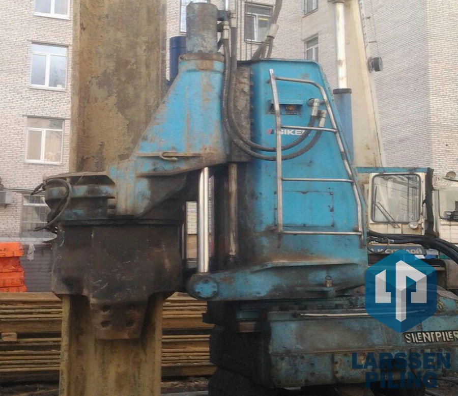 Установка для статического вдавливания шпунта Ларсена - ЛАРСЕН ПАЙЛИНГ
