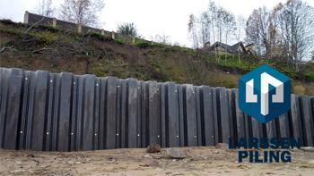 Проектирование шпунтовой стенки - статья от Ларсен Пайлинг