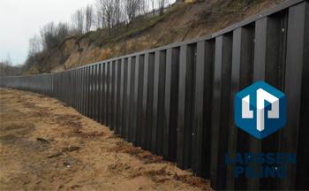 Из чего делают шпунтовые стенки?