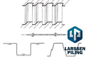 О проектах производства работ на устройство шпунта Ларсена