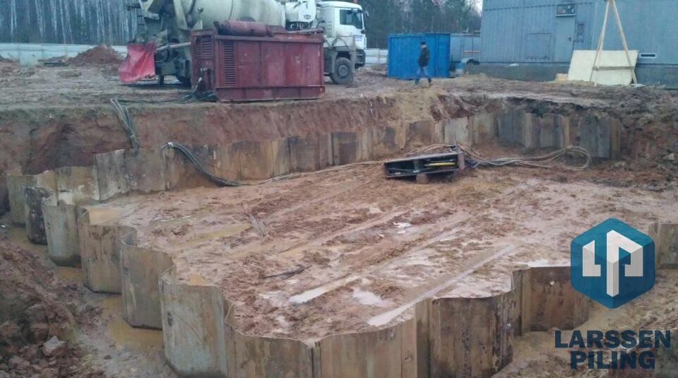 Шпунтовые работы в Тольятти - вибропогружение, выемка