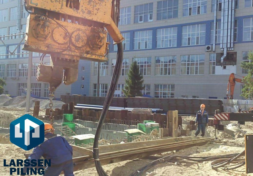 Шпунтовые работы в Ульяновске - вибропогружение, выемка